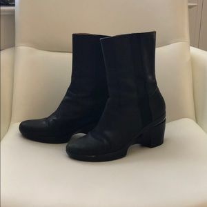 Cole Haan Black slip on boot Size 9.5